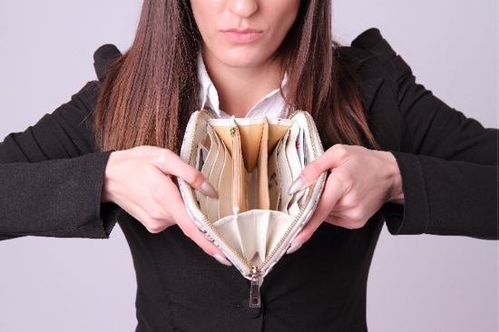 お金の使いすぎに注意